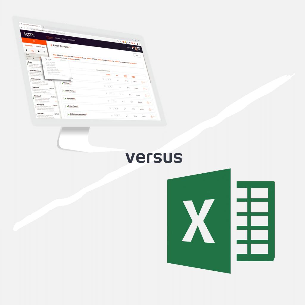 SCOPE vs Excel